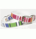 Stripey canvas collars