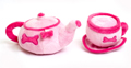Dog Toy Tea Set