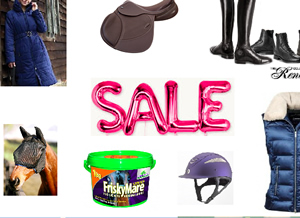 It's raining discounts here at Dragonfly Saddlery!