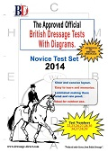 British Dressage Novice Tests Folder 2014