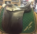 "Sturgess Dressage Saddle 17.5"" Med/Wide 8409"