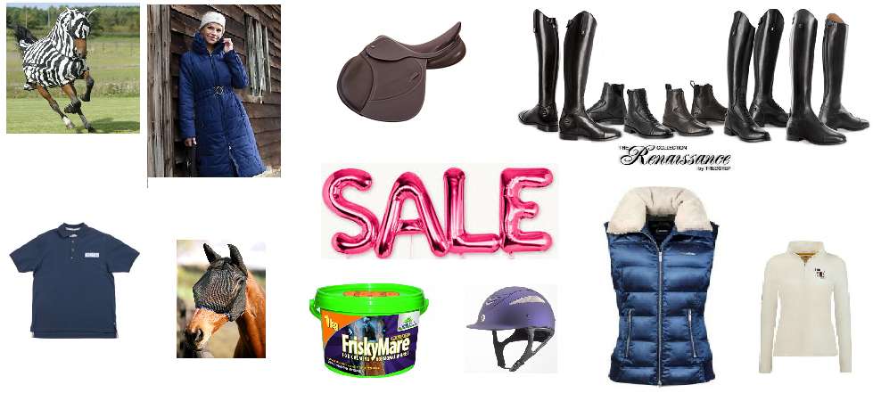 Huge sale on at Dragonfly Saddlery