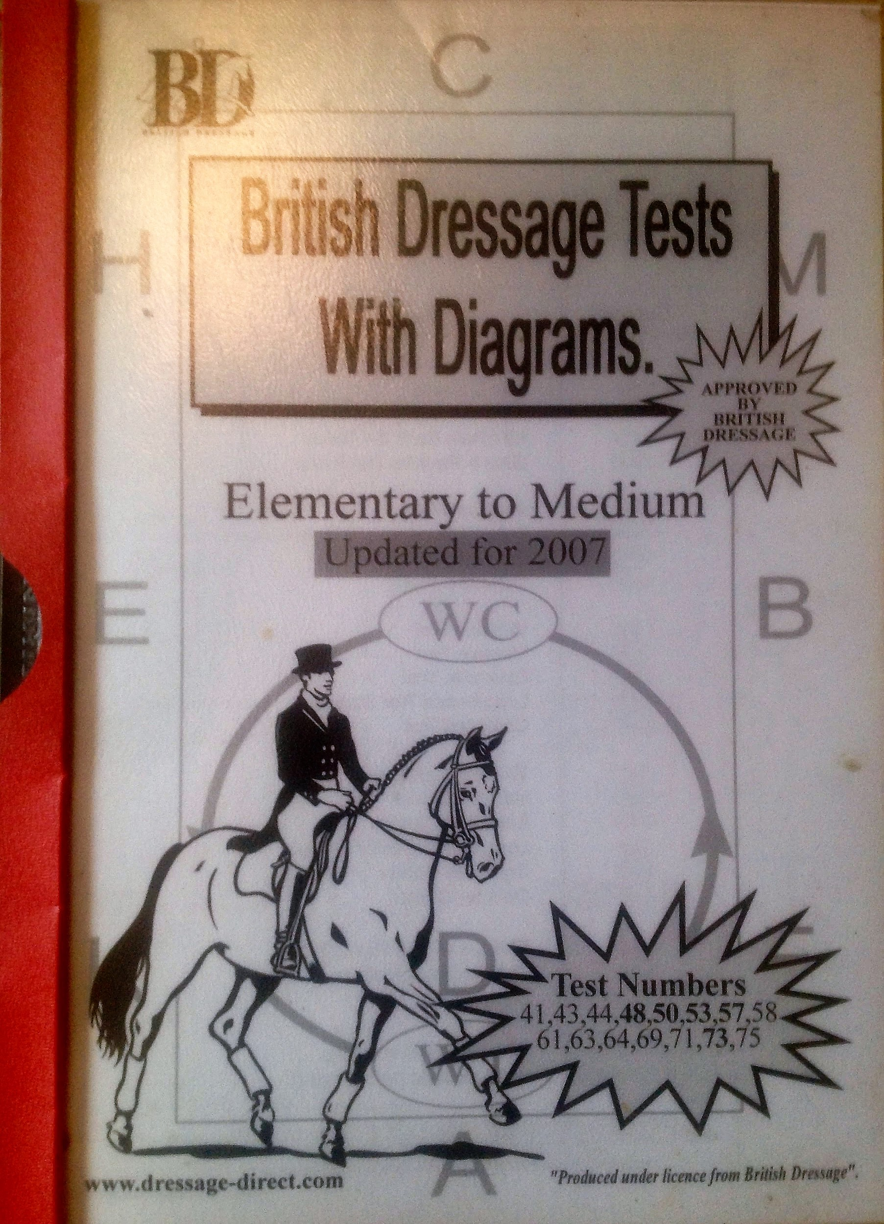 British Dressage Elementary-Medium 2007