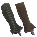 Loveson Studley Childrens Suede Half Chaps