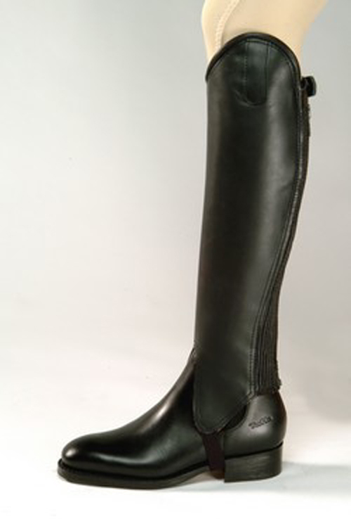 Tuffa Junior Trakehner Leather Gaiters